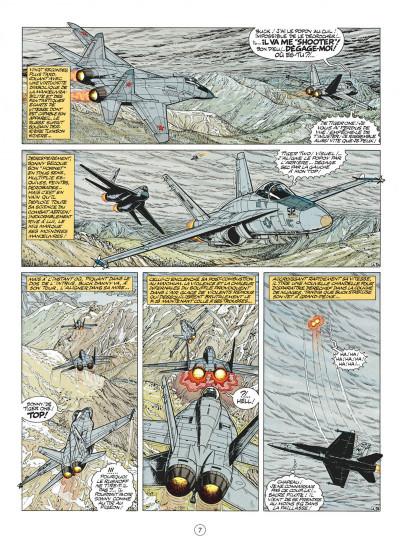 Page 7 buck danny tome 44 - les agresseurs