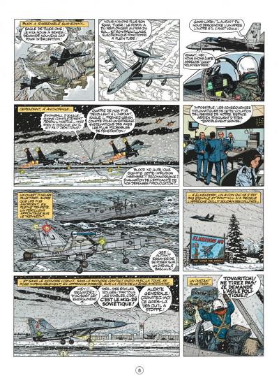 Page 8 buck danny tome 44 - les agresseurs