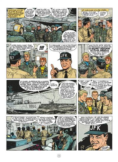 Page 9 buck danny tome 44 - les agresseurs