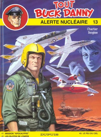 Couverture tout buck danny tome 13 - alerte nucleaire