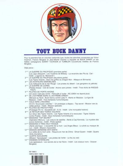 Dos tout buck danny tome 13 - alerte nucleaire