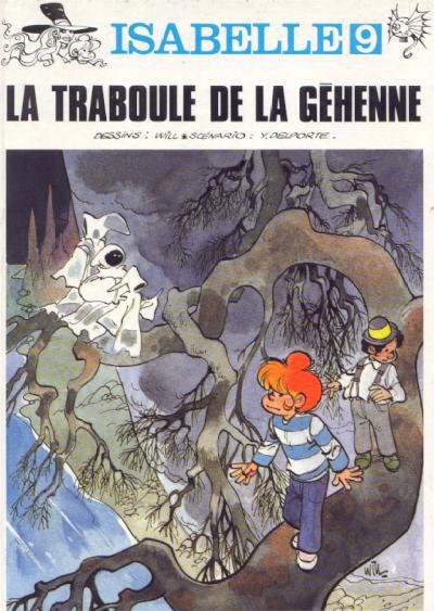 Couverture Isabelle tome 9 - la traboule de la géhenne
