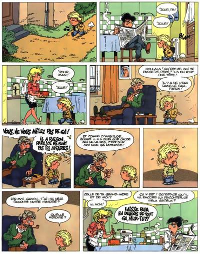 Page 1 cédric tome 5 - quelle mouche le pique ?