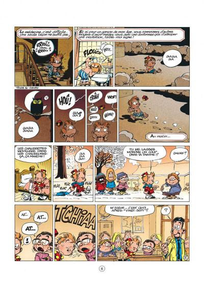 Page 6 le petit spirou tome 3 - mais qu'est-ce que tu fabriques