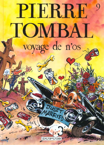 Couverture Pierre Tombal tome 9 - voyage de n'os