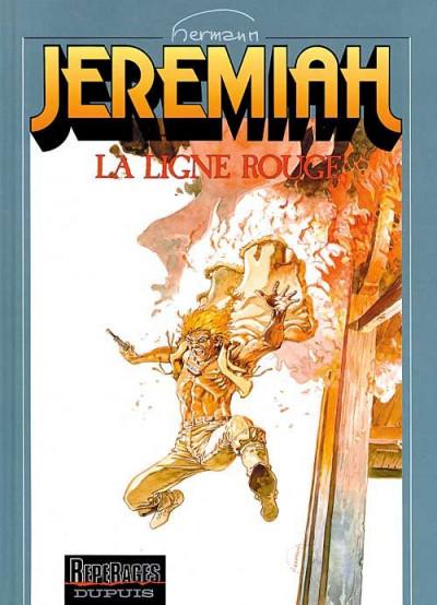 Couverture jeremiah tome 16 - la ligne rouge