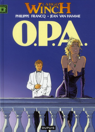 Couverture largo winch tome 3 - o.p.a.