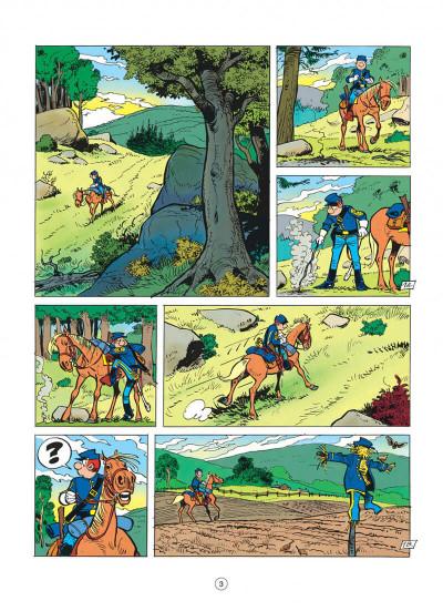 Page 3 les tuniques bleues tome 34 - vertes années