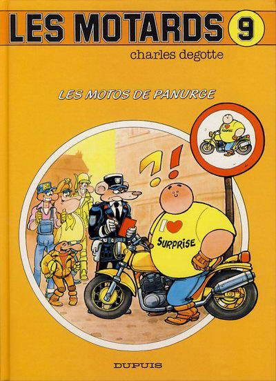 Couverture Les motards tome 9 - les motos de panurge