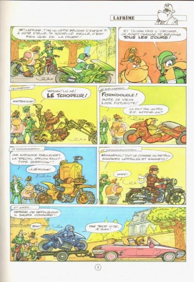 Page 1 Les motards tome 9 - les motos de panurge
