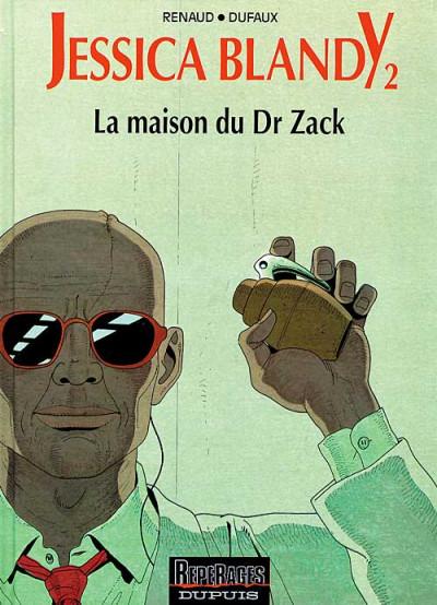 Couverture Jessica Blandy tome 2 - la maison du docteur zack