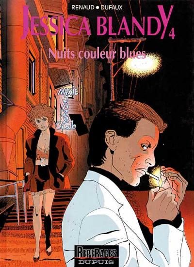 Couverture Jessica Blandy tome 4 - nuits couleur blues