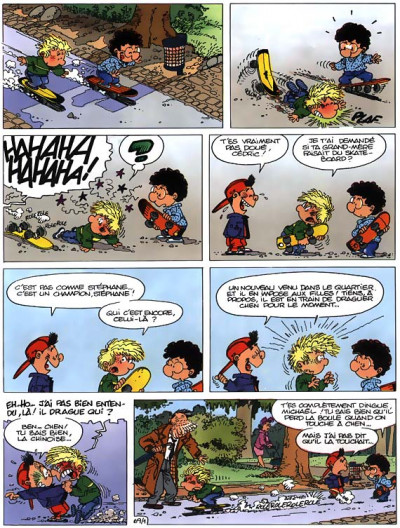Page 1 cédric tome 6 - chaud et froid