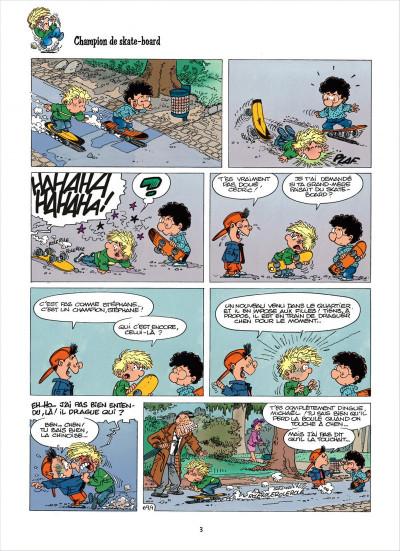 Page 3 cédric tome 6 - chaud et froid