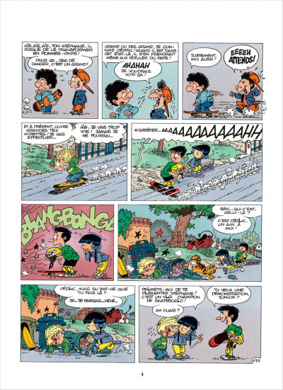 Page 4 cédric tome 6 - chaud et froid