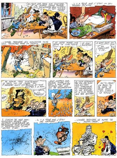 Page 3 pierre tombal tome 10 - dégâts des os