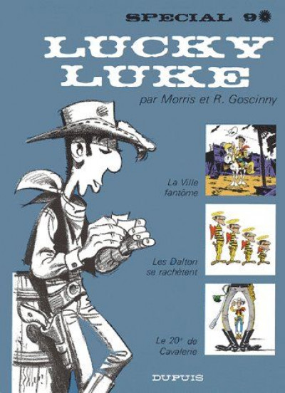Couverture Tout Lucky Luke tome 9