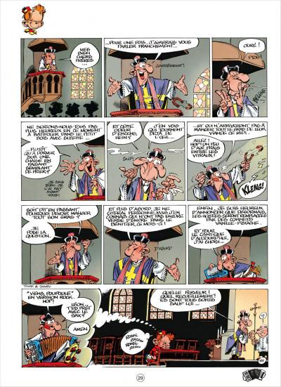 Page 9 le petit spirou tome 4 - c'est pour ton bien