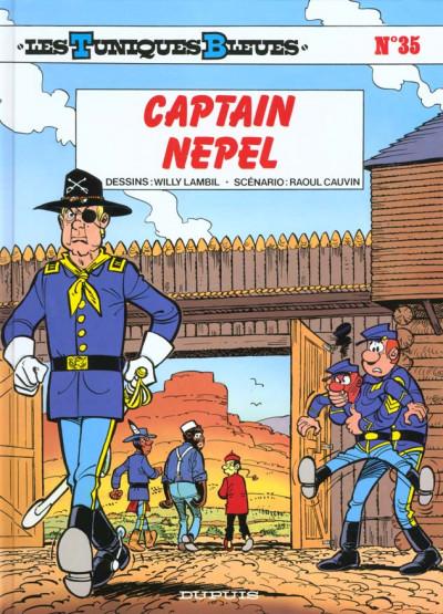 Couverture les tuniques bleues tome 35 - capitain nepel