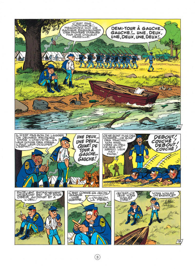 Page 3 les tuniques bleues tome 35 - capitain nepel