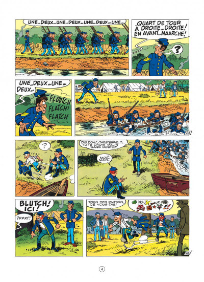 Page 4 les tuniques bleues tome 35 - capitain nepel