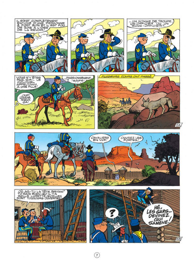 Page 7 les tuniques bleues tome 35 - capitain nepel