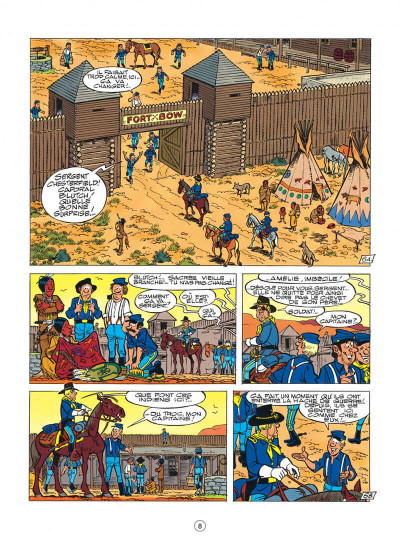 Page 8 les tuniques bleues tome 35 - capitain nepel