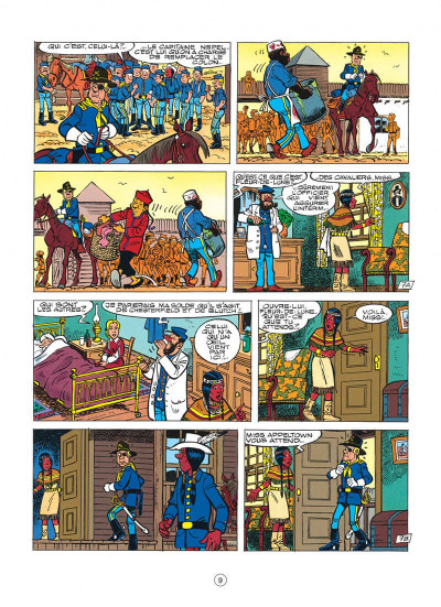 Page 9 les tuniques bleues tome 35 - capitain nepel