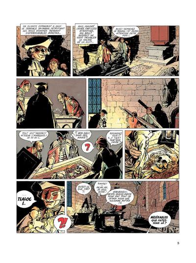Page 4 l'épervier tome 1 - le trépassé de kermellec