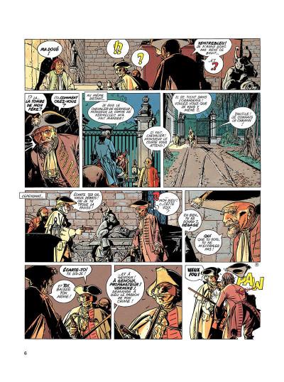 Page 5 l'épervier tome 1 - le trépassé de kermellec