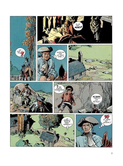 Page 6 l'épervier tome 1 - le trépassé de kermellec