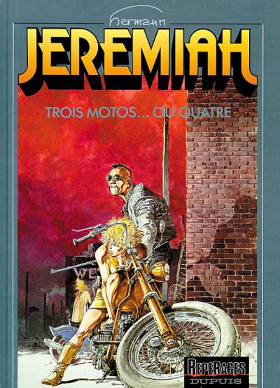 Couverture Jeremiah tome 17 - trois motos... ou quatre