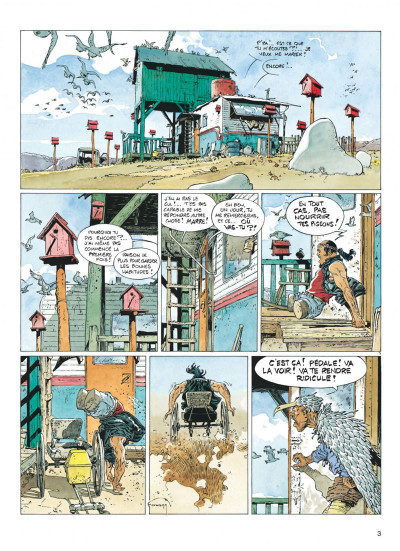 Page 3 Jeremiah tome 17 - trois motos... ou quatre