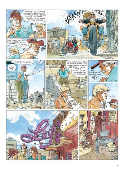 Page 5 Jeremiah tome 17 - trois motos... ou quatre