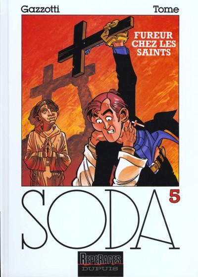 Couverture soda tome 5 - fureur chez les saints