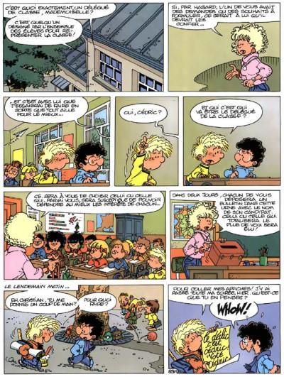 Page 1 cédric tome 7 - pépé se mouille