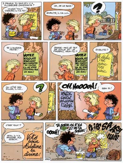 Page 2 cédric tome 7 - pépé se mouille