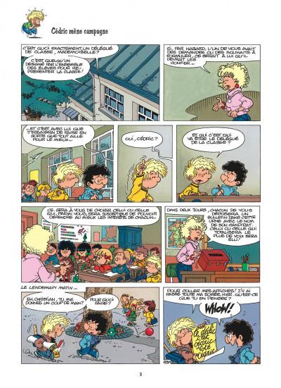 Page 3 cédric tome 7 - pépé se mouille
