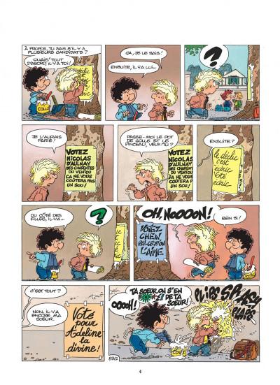 Page 4 cédric tome 7 - pépé se mouille