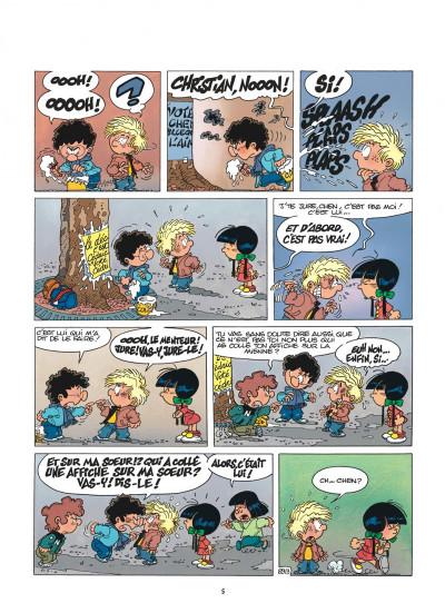 Page 5 cédric tome 7 - pépé se mouille