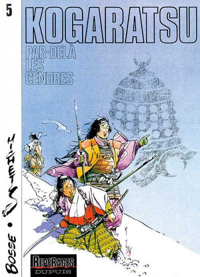 Couverture Kogaratsu tome 5 - par-delà les cendres