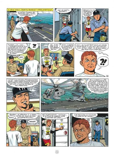 Page 5 buck danny tome 45 - les secrets de la mer noire