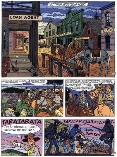 Page 3 les tuniques bleues tome 36 - quantrill