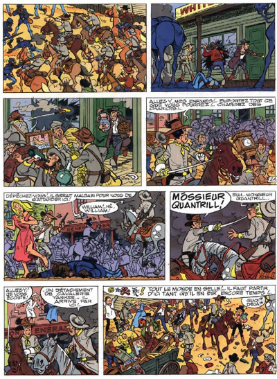 Page 4 les tuniques bleues tome 36 - quantrill