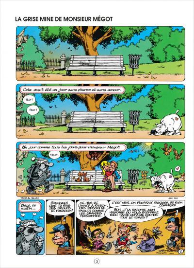 Page 3 le petit spirou tome 5 - merci qui