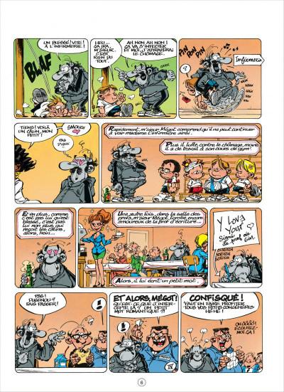 Page 6 le petit spirou tome 5 - merci qui