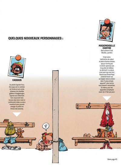 Page 9 le petit spirou tome 5 - merci qui