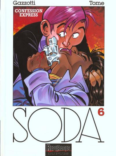 Couverture soda tome 6 - confession express