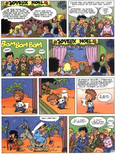 Page 1 cédric tome 8 - comme sur des roulettes