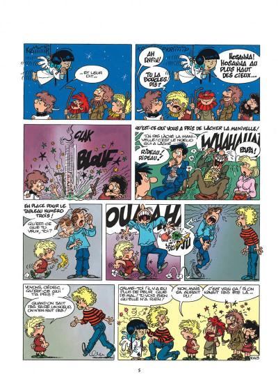 Page 5 cédric tome 8 - comme sur des roulettes